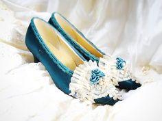 Hunter green satin marie Antoinette rococo  by ButterfliesWing, $50.00 Yall r gunna see these on my feet soon.