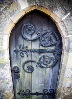Thresholds:  Enchanting door.