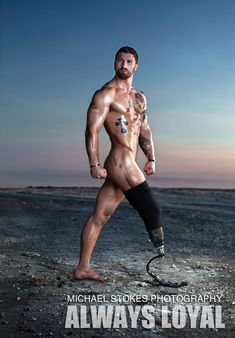 Sexy Wounded War Veterans Show They're Confident Enough To Be Hot Calendar Models