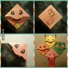 These pokemon bookmarks are soo cute!!
