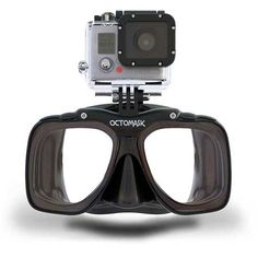 OCTOMASK With GoPro Mount