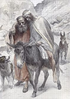 The Parable of the Good Samaritan by Eugene Burnand