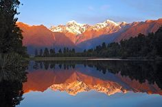 Free Lake Matheson & New Zealand Images - Pixabay New Zealand Lakes, Visit New Zealand, Flight Specials, Easter Show, New Zealand Image, Start Of Winter, Natural Swimming Pools, Destinations, Seasons Of The Year