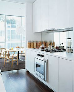 small and narrow kitchen space on pinterest small