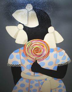 ☆ Good Girl Gets a Lollypop :¦: Artist Cassandra Gillens ☆