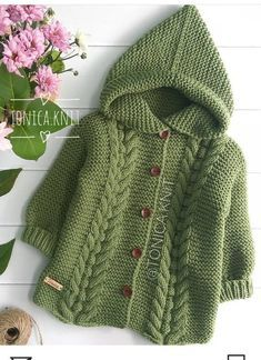 Best 12 How to make a Knitted Kimono Baby Jacket – Free knitting Pattern & tutorial – Sa… – – SkillOfKing.Easy Knitting Patterns for Beginners - How to Get Started Quickly?This post was discovered by ha Baby Boy Cardigan, Cardigan Bebe, Baby Girl Sweaters, Knitted Baby Cardigan, Knitted Hat, Baby Boy Knitting Patterns, Baby Cardigan Knitting Pattern, Knitting For Kids, Baby Patterns