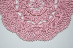 Instant download pattern for textured crochet doily with intricate details. This pattern is written only instructions. Pattern uses U.S./American terminology, is worked in rounds and consists of 32 rounds. Pattern will be available for download in PDF format after the purchase. Download includes