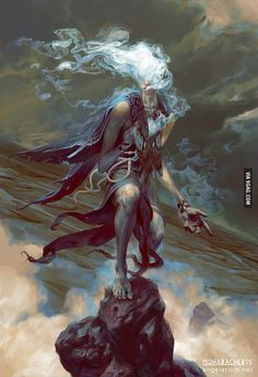 Sathariel, Angel of Deception - 9GAG