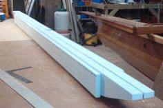 Foam and fiberglass ama construction