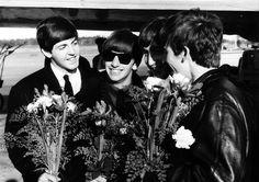 Paul McCartney, Richard Starkey, John Lennon, and George Harrison (Source- http://weheartit.com/entry/56977342/via/amelie011)