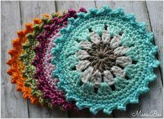 Hübsche Untersetzer als Geschenk oder einfach zum Selbst behalten! Mehr dazu findest du auf meinem Blog http://www.marabeeswelt.blogspot.com