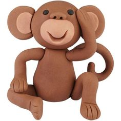 Giggles the Playful Monkey | Wilton 3-D Modeling Tutorial