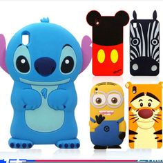 New Hot Cute 3D Cartoon Cat / Tiger Soft Rubber Case Cover For HTC Desire 816  #UnbrandedGeneric