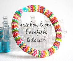 hexafish rainbow loom bracelet http://m.instructables.com/id/hexafish-rainbow-loom-bracelet/?ALLSTEPS
