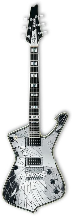 Ibanez PS1CM Paul Stanley Cracked Mirror Can I get one of these?? This is sooo awesome....