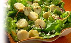 Receta de Ensalada de palmitos y alcachofas - PRONACA