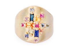 Mondrian Shield Ring 18Y copy