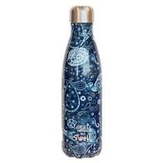 STARBUCKS S'Well Water Bottle - Liberty London Fabrics Edition. Don't miss out on this discontinued item that will never be available again. Deep Blue Marky Paisley Pattern. Stainless Steel Insulated Construction. | eBay!
