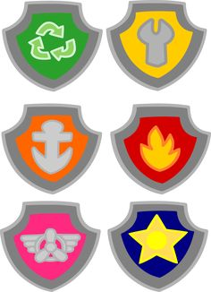 Crafting with Meek: Paw Patrol - Badges