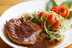 Pepper Pork Steak