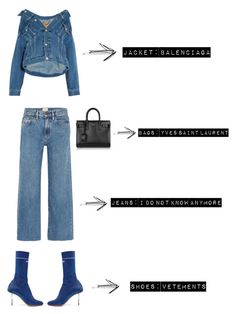 """Simple"" by fashionforblog on Polyvore featuring Vetements"