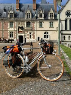 Blois. One of the best ways to explore the Loire Valley is by bike. Find out more about our self-guided cycling trips here: http://www.discoverfrance.com/regions/loire-valley-cycling-tours.php