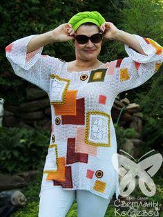 Brazilian Crochet And Handicraft Crochet Ripple, Freeform Crochet, Crochet Cardigan, Knit Or Crochet, Filet Crochet, Crochet Designs, Crochet Patterns, Beautiful Crochet, Handmade Clothes