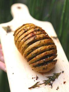 Hasselback potatoes : pommes de terre rôties à la suédoise