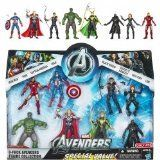 Marvel Exclusive Action Figure 8Pack The Avengers Iron Man Thor Captain America Hulk Black Widow Hawkeye Nick Fury  Loki ** You can get more details by clicking on the image.