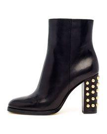 MICHAEL Michael Kors  Linden Bubble-Stud Ankle Boot