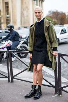 Aymeline just casually being stunning. #offduty in Paris. #AymelineValade