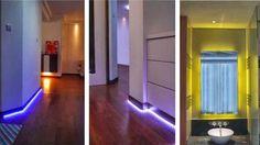 Energiesparend und zugleich dekorativ - #LED #Beleuchtung im Interieur.