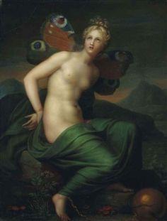 Psyché By Anne-Louis Girodet de Roussy-Trioson