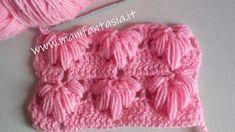 Punto uncinetto fantasia con noccioline allungate - manifantasia Knitted Hats, Crochet Hats, Crochet Stitches, Diy And Crafts, Elsa, Knitting, Fashion, Costumes, Crochet Socks