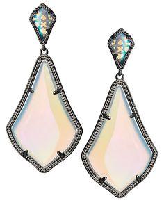 Alexis Earrings in Iridescent Opalite - Kendra Scott Jewelry