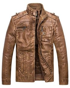 Wantdo Men's Retro Stand Collar Pu Leather Jacket US Smal... https://www.amazon.com/dp/B00WHBTL9G/ref=cm_sw_r_pi_dp_x_srg7xbEZJ6T95