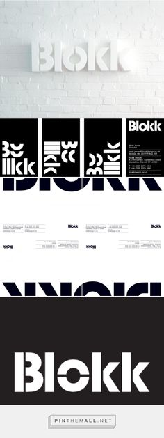 Blokk - Proud Creative http://proudcreative.com/Blokk - created via https://pinthemall.net