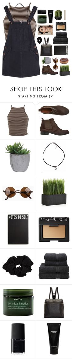 """""""shake the dust behind you"""" by dreams-take-place-in-outer-space ❤ liked on Polyvore featuring Miss Selfridge, Toast, Lux-Art Silks, Crate and Barrel, Primitives By Kathy, NARS Cosmetics, River Island, Christy, Aveda and Kara"""