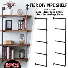 Hanging Storage Shelves, Bookshelf Storage, Diy Storage, Floating Shelves, Diy Shelving, Diy Bookshelf Wall, Build Shelves, Hanging Bookshelves, Floor To Ceiling Bookshelves
