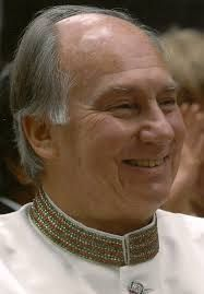 Aga Khan IV - Prince Shah Karim Al Hussaini became Imam on July 11, 1957 at the age of 20, succeeding his grandfather, Sir Sultan Mahomed Shah Aga Khan. He was born in 1936, Geneve, graduated from Harvard University in 1959 with a BA Honors Degree in Islamic history.