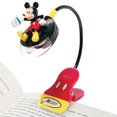 Mickey Mouse book light