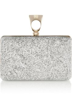 Tom Ford | Crystal Rock embellished leather clutch | NET-A-PORTER.COM