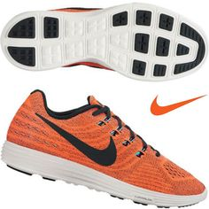 NIKE LUNARTEMPO 2 Orange men's running mesh shoes [818097 804] all sizes NEW