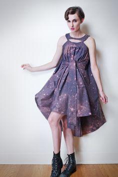 Harmony and the Night Sky Dress. $224.00, via Etsy.