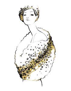 Christian Dior - by Garance Doré - @~ Mlle