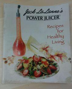 Jack Lalanne Power Juicer Secrets of Power Juicing An Recipes for Healthy Living #JackLaLanne