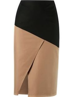 Shop Andrea Marques panelled skirt in Farfetch from the world's best independent boutiques at . Shop 400 boutiques at one address. Formal Dress Patterns, Dress Sewing Patterns, Skirt Pants, Dress Skirt, Formal Skirt, Fashion Essentials, Sewing Clothes, Skirt Outfits, African Fashion