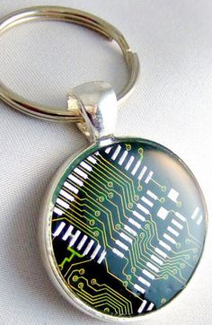 Computer Circuit Board Key-chain