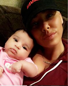 Amber Rose Pictured With Dream Kardashian