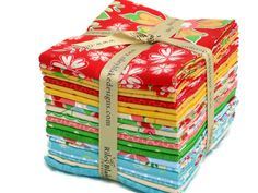 Fat Quarter Fabric Bundle Delighted by Riley by plumpatchwork, $52.00